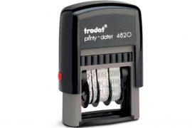 Sello Automatico fechador rectangular 4820 - Mas que sellos
