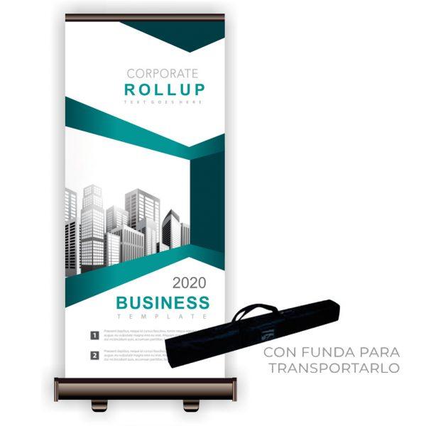 Rollup personalizado - mas que sellos